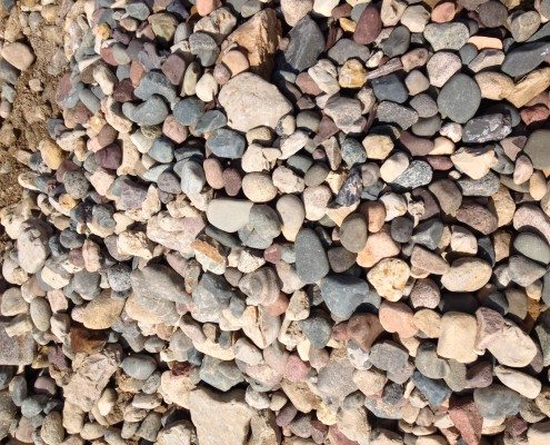 "4""-6"" RIVER ROCK $85 / YD"