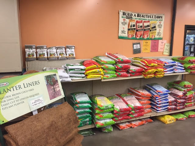 gardening supplies available for your lawns