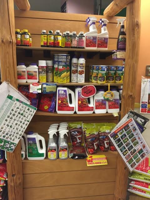 gardening supplies shop