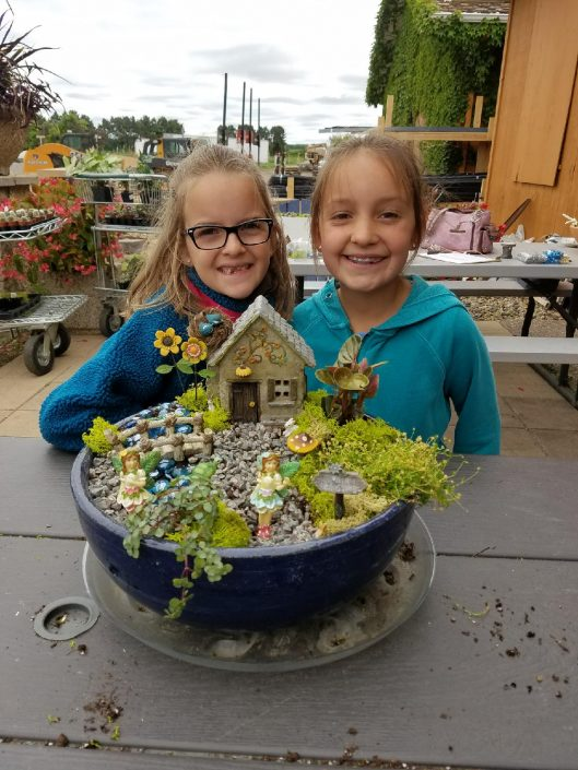 kids love fairy gardening in Minnesota